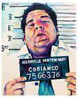Joey Diaz mugshot poster print 18x12 original artwork by Xilberto
