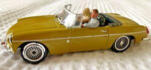Universal Hobbies 1:43 Mustard Yellow MGB Diecast Toy Car