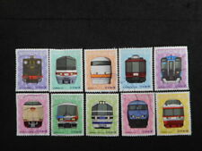 JAPAN COMMEMO STAMPS ( RAILROAD SERIES NO.5-2 ) USED