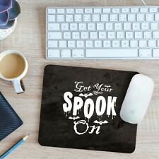 Get Your Spook On Mouse Mat Pad 24cm x 19cm