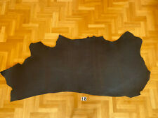 Vegetable Tanned Leather 4,5-5,2 mm Black Crust Side Full Grain High quality Cow