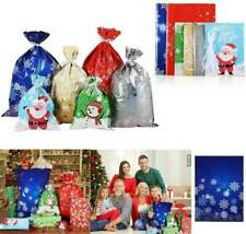 Christmas OPP Gift Wrap Reusable Present Wrapping Bags Large Bags