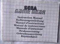 64114 Instruction Booklet - SEGA Game Gear Console - Sega Game Gear (1992) 672-0