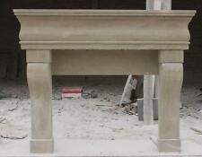 Simple Hand Carved Fireplace Mantel, Tuscan Style #3714
