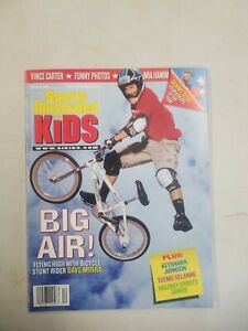 Sports Illustrated For Kids Dec 1999 issue w/ Tiger Woods Card Uncut Sheet RARE