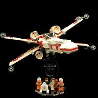 Acryl Display Stand Acrylglas Standfuss für LEGO 6212 X-Wing Fighter