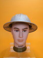 SILVER Aluminum Full Brim Hard Hat no Liner RARE BF McDonald Co. Los Angeles VTG