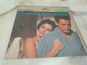 Cat on a Hot Tin Roof New Sealed Laser disc  1983 Elizabeth Taylor Paul Newman