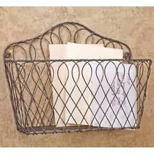 AMELIA'S Wall Mount Wire Basket Shelf