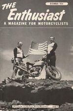 1954 December - The Enthusiast - Vintage Harley-Davidson Motorcycle Magazine