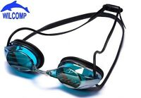 Adult Silicone Swimming Goggles Anti-fog UV-protection Coated  WILCOMP WIL-SG-25