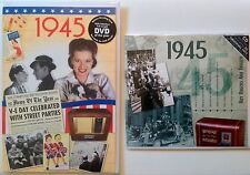 1945 72nd Birthday Gifts Set - 1945 DVD , Pop CD and Year Cards - Compilation