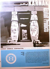 KARNAK Asphalt Products Catalog ASBESTOS Roof Flooring Mastic Waterproofing 1974