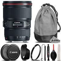 Canon EF 16-35mm f/4 L IS USM Lens +Lens Hood +U.V Filter - Ultimate Saving Kit
