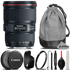 Canon EF 16-35mm f/4 L IS USM Lens +Lens Hood +U.V Filter - Ultimate Saving Kit