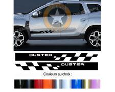 2 X BANDES PORTES DECO POUR DACIA DUSTER 4WD  AUTOCOLLANT STICKER BD515-5