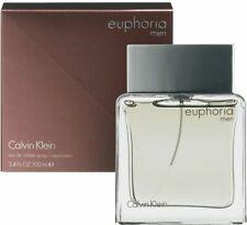 Euphoria Men By Calvin Klein Eau De Toilette Spray 100ml 3.4oz NEW Sealed Box