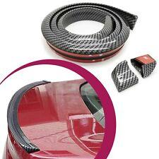 KFZ PKW Auto Kofferraum Heck Spoiler Lippe Carbon Optik für Audi BMW Seat VW
