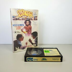 Weird Science Teen Cult Classic 90s Beta Video Tape RARE HTF CIC Video
