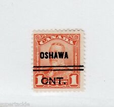 Canada 1928  #1-148 Θ used F - Precancel Oshawa Ont.