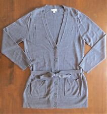 Ladies Grey Knit Cardigan~Size Large~Excellent Condition