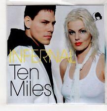 (GU469) Infernal, Ten Miles - DJ CD