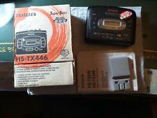 VINTAGE WALKMAN RADIO STEREO CASSETTE AUTOREVERSE AIWA HS-TX446 COME NUOVO