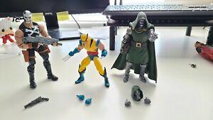 Marvel Legends Doctor Doom Wolverine Crossbones Bundle