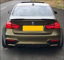 BMW F80 M3 Saloon 4dr Grey Primer Tuner design Rear Boot Lip Spoiler