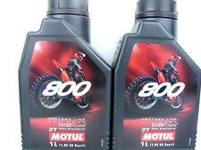 Motul 800 2T Off Road Motoröl 2Liter Factory Line Öl Motorradöl Motorenöl 2x 1L