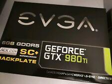 EVGA NVIDIA GeForce GTX 980 Ti SC+ GAMING ACX 2.0+ (6144 MB) (06G-P4-4995-KR) G…