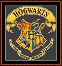 Harry potter poudlard héraldique cross stitch kit