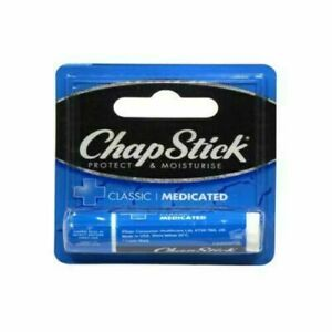 Details about  ChapStick Lip Health Balm Medicated Classic For Dry Chapped Lips