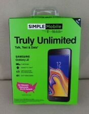 Simple Mobile SAMSUNG Galaxy J2 4G LTE Android S260DL NEW SEALED