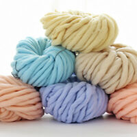 DIY Thick 1 Ball Chunky Wool Yarn Super Soft Bulky Arm Knitting Crocheting*-