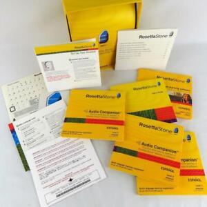 Rosetta Stone Spanish Level 1-3  Latin America Edition 12 Discs, NO Headset