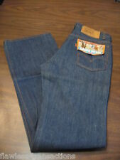 Levi VINTAGE Jeans Talon 42 Zipper ORANGE TAB  517 Flare Boot Cut Mens 34 x 36