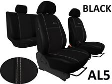 NISSAN PULSAR 2014 PRESENT LEATHER ALCANTRA SEAT COVERS MADE TO MEASURE FOR CAR