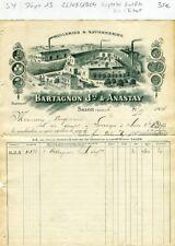Dépt 13 - Salon de Provence - Superbe Entête d'une Huilerie & Savonnerie de 1904