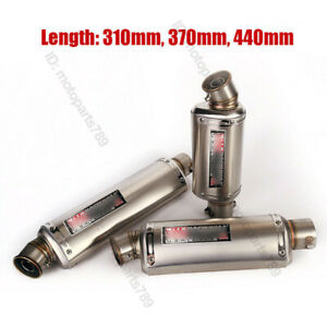 Motorcycle Exhaust System End Tip Muffler Vent Pipe DB Killer For 51mm Universal