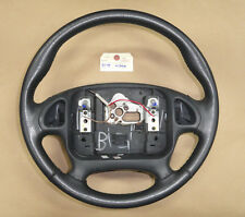 95-98 Firebird Trans Am Leather Wrapped Steering Wheel for Radio Controls 02560
