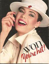 1984 Vintage Antique AVON Sales Catalog Book Brochure Campaign 10
