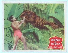 Rare Original VTG 1949 Sabu Gail Russell Song Of India 11x14 Movie Lobby Card
