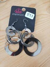 893 GRAY CIRCLE EARRINGS (new)