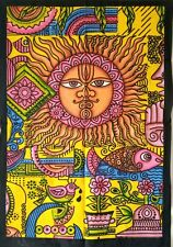 Beautiful Design Indian Traditional  Sun Sign Small Tapestry Poster 100%Cotton