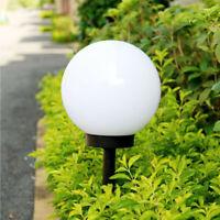 LED Solar Power Outdoor Garden Path Yard Ball Light Lamp Lawn Road Patio