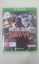 Metal Gear Survive Xbox One Game + Survival Pack DLC (New & Sealed)
