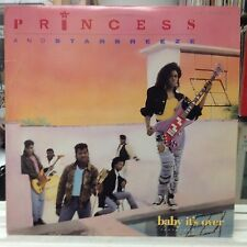 """[SOUL/FUNK]~NM 12""""~PRINCESS~And STARBREEZE~Baby It's Over~[x3 Mixes]"""