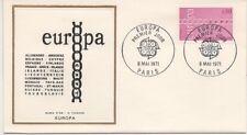 FRANCE 1971.F.D.C. EUROPA. C.E.P.T.LE BURIN D'OR.OBLI:LE 8/5/71 PARIS