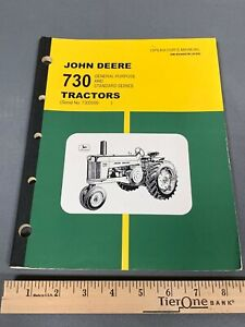 John Deere 730 Tractor General Purpose and Standard Tractors Operator's Manual